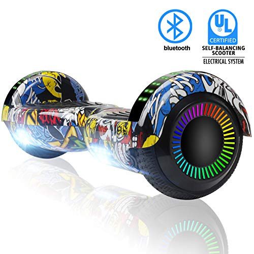 FLYING-ANT Hoverboard Two-Wheel Self Balancing Electric Scooter UL 2272 Certified,6.5 inch Self Balancing Scooter with Carry Bag