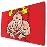 Ye Hua Extra Large Mouse Pad -Kinnikuman Red Desk Mousepad - 15.8x29.5in (3mm Thick)- XL Protective Keyboard Desk Mouse Mat for Computer/Laptop