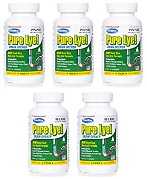 ComStar 024924305003 Pure Lye Bead Drain Opener 1 lb White  Five Pack