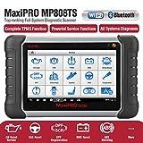 Autel MaxiPRO MP808TS Outil avancé de Diagnostic et d'analyse du Service TPMS, servicio de aceite, EPB, ABS/SRS y SAS, DPF, BMS Tablet Android™ avec écran Tactile LCD Pouces