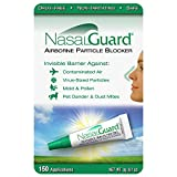 NasalGuard Airborne Particle Blocker Cold&Flu Gel Year-Round Solution for Blocking Allergens and Cold Flu Symptoms (Scented) - Drug-Free and Proven Safe - Over 150 Applications Per Tube