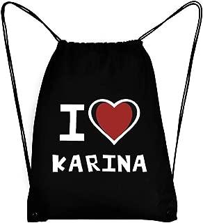 I love Karina Bicolor Heart Sport Bag 18