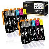 TohiTata PGI-580XXL CLI-581XXL Sostituzione per Cartucce d'inchiostro Canon 580 581 per Canon Pixma TR8550 TS8351 TS6350 TS6251 TR7550 TS6250 TS8152 TS8150 TS9551 TS9150 TS705 TS6351 TS8251 TS6151