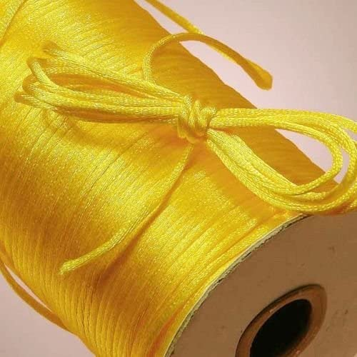 Trust Regular dealer Satin Rattail Cord Trim Beading 2MM 10 String Organization Bead