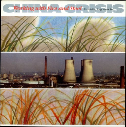 China Crisis Working With Fire And Steel 1983 UK vinyl LP V2286