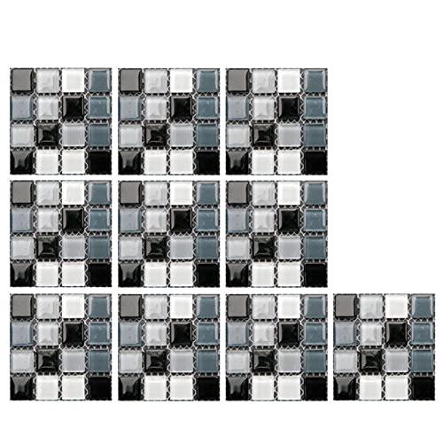 Pegatinas autoadhesivas para azulejos 3D de ladrillo con patrón de azulejos 3D, pegatinas autoadhesivas de mosaico, papel pintado autoadhesivo para la cocina, adhesivo en azulejos de Splashback 3D