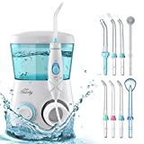 HAIRBY Water Flosser, Dental Oral Irrigator Waterproof Leakproof 600 ML Capacity with 7