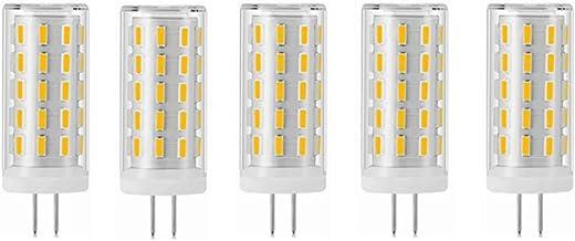 LED Lamp 5-Pack No Flicker G4 Led Light Bulb AC110-240V 5W 54LEDs SMD 4014 G4 LED Corn Bulb Lamp High Power G4 LED Spotlig...