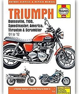 Haynes Triumph, Bonneville, T100, Speedmaster, America & Truxton (2001 to 2005)