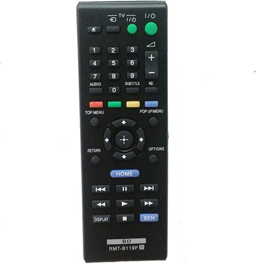 RMT-B119P Replacement Remote Overseas parallel import regular item Control mart fit for DVD Sony Blu-ray Pl