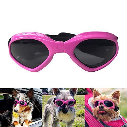 Petleso Pet Goggles Stylish Dog Sunglasses for UV...