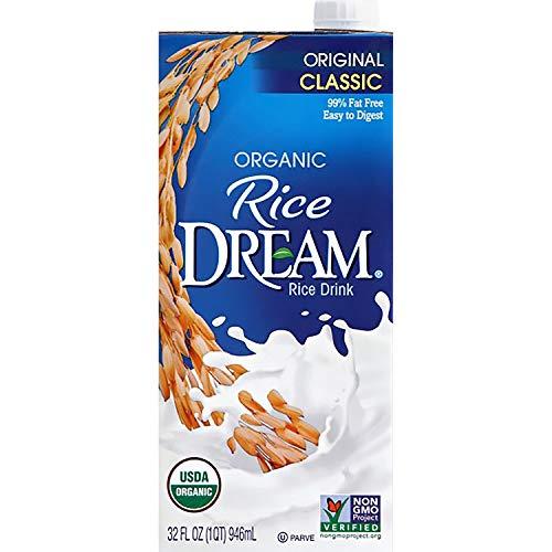 Rice Dream Organic Rice Drink, Classic Original, 32 Oz (Pack of 12)