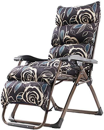 Lehnstuhl Folding Mittagspause Stuhl Sommer-Büro-Balkon zu Hause Stuhl Strand Sessel Klappstuhl (Farbe: J) zhaoyun (Color : L)