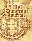 My Dungeon Journal: 100 Pages of Graph paper