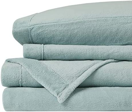 True North by Sleep Philosophy Soloft Plush Wrinkle Resistant Warm Soft Fleece Sheets with 14 product image