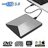 Externes DVD Laufwerk, M.way 3.0 USB-A ultradnne DVD Player PC, tragbare DVD/ CD Brenner fr Laptops...