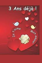 3 ans déjà: Ce livre est un questionnaire Une idée cadeau originale à offrir pour un anniversaire de mariage / rencontre /...