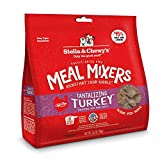 Stella & Chewy's Freeze-Dried Raw Tantalizing Turkey Meal Mixers Dog Food Topper, 3.5 oz. Bag, Freeze-Dried Raw Meal Mixers