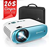 "VANKYO Cinemango 100 Mini Projector,220"" Display and 1080P Supported,3800 LUX Projector with 50,000"