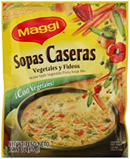 Maggi Sopas Caseras Vegetable, 2.99-Ounce (Pack of 12)