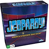 Jeopardy Board Game - America's Favorite Quiz Show Party Game - Features 180 Cards, 6 Stands, And Play Money (Ages 12+)