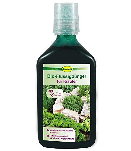 SCHACHT BIO-Flüssigdünger für Kräuter, Kräuterdünger 350 ml