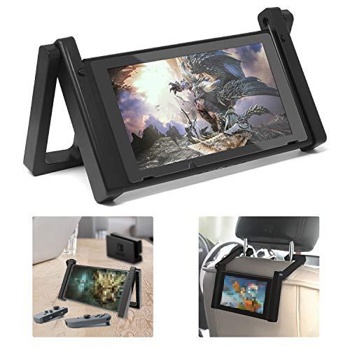 FASTSNAIL 2in1 Kfz Kopfstützen Halterung für Nintendo Switch, Tischständer für Nintendo Switch, Universal - Kopfstütze Auto Halter