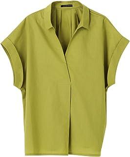 AquaGarage(アクアガレージ)裾ブラウジングスキッパーシャツ