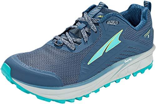 ALTRA Women's AL0A4VRB TIMP 3 Trail Running Shoe, Dark Blue - 9 M US