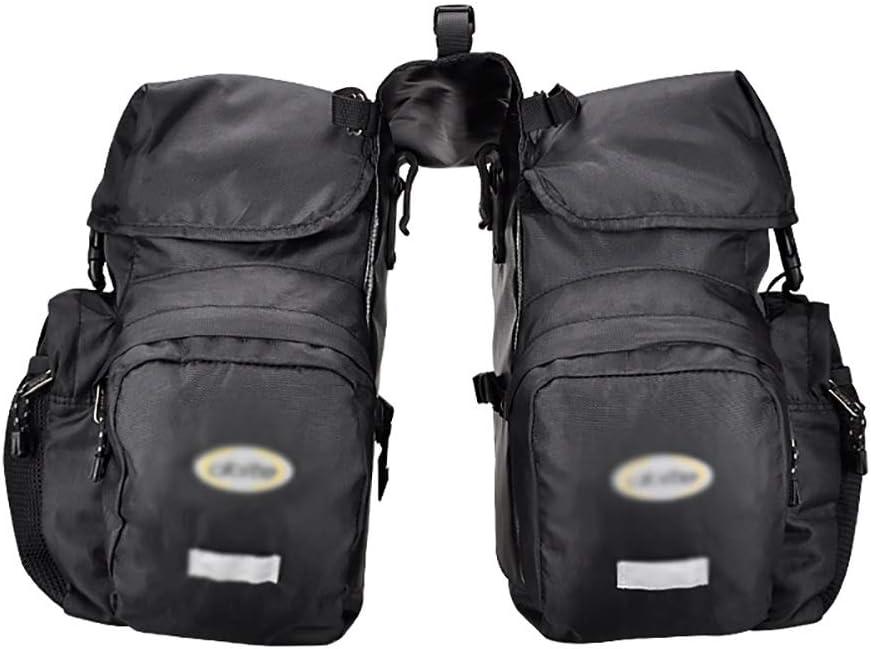 Bike Same day shipping Panniers Rack Trunks Bombing free shipping Bicycle Rear 50L Lar Bag Seat Luggage