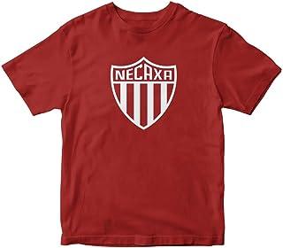 TJSPORTS Club Necaxa Mexico Red T Shirt Soccer Futbol