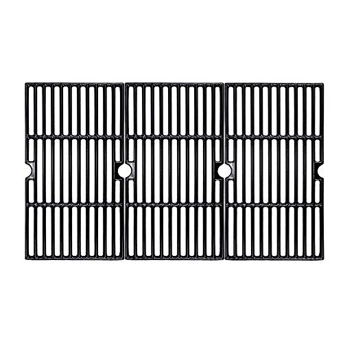 BBQMall Porcelain Enameled Cast Iron Grill Cooking Grate for Charbroil 463420508, 463420509, 463420511, 463436213, 463436214, 463436215 463461613 Gas Grills
