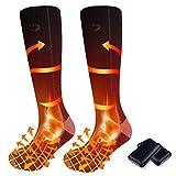 pocova Heated Socks for Men Women Rechargeable Washable, 2021...