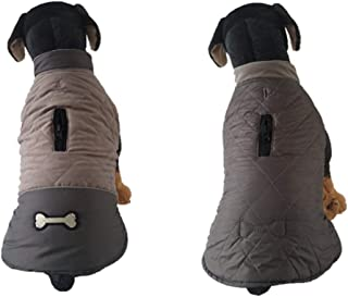 BOOB Warm Autumn and Winter Dog Clothes Pet Clothes Double-Sided Outdoor Dog Clothes Waterproof Reflective Thick Clothing Coat