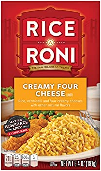 12-Pack Rice-A-Roni Creamy Four Cheese Rice (6.4oz boxes)