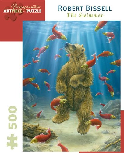 The Swimmer: Robert Bissell 500-Piece Jigsaw Puzzle (Pomegranate Artpiece Puzzle)