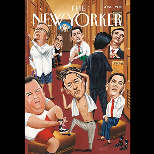 The New Yorker, June 1st 2015 (Ben Taub, William Finnegan, Adam Gopnik) copertina