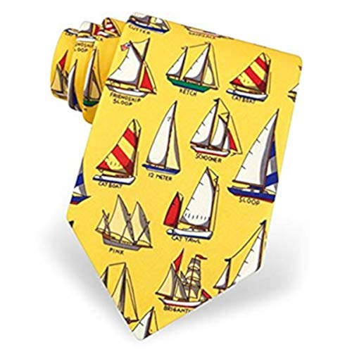 Boating Signals Tie By Eric Holch For Alynn Neckwear In Silk