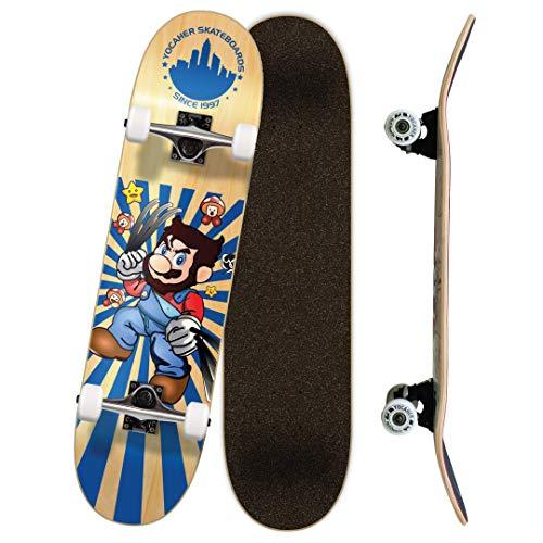 Yocaher Retro Series Complete Skateboard or Skateboards Deck only (Complete 7.75' -03- Snikt)