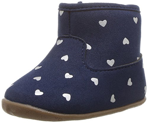 Carter's Every Step Girls' Stage 2 Stand, Amira-SG Fashion Boot, Navy,5.0 M US (9-12 Months)