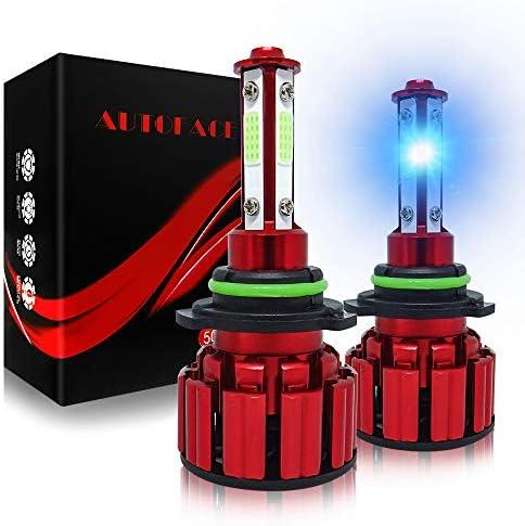 AUTOFACE HB4 9006 LED Headlight Bulbs 60W 10000LM Super Bright LED Fog Lights Bulb 8000K for product image