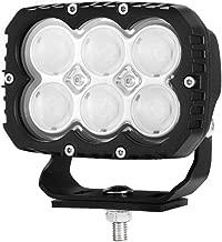 LightFox 5inch Square LED Work Light Industrial Grade Driving Lamp 12v 24v Truck 3 Years Warranty