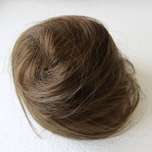 PRETTYSHOP Dutt Haarteil Zopf Haarknoten Hepburn-Dutt Haargummi Hochsteckfrisuren hellbraun DC6