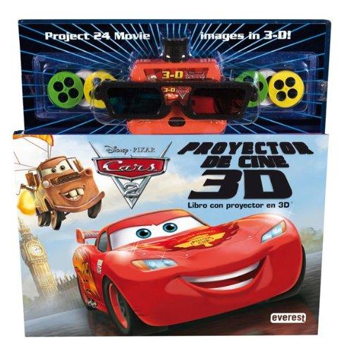 Cars 2. Libro con proyector de cine 3D: Libro con proyector en...