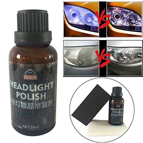 erthome - Accessoire de Voiture pour phares de Voiture - Revêtement en céramique Liquide - Revêtement en Verre hydrophobe