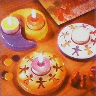 Gießform Kerzenhalter VIII PREISHIT [Haushaltswaren