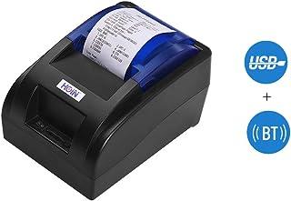 comprar comparacion Impresora térmica de Recibos de 58 mm con Interfaz BT y USB Impresión Clara de Tickets de facturas de Alta Velocidad Compa...