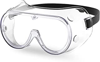 The Essential Goods Protective Safety Goggles | Anti-fog, Scratch Resistance | Wide Vision Clear Lens | Goggles For Safety...