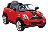 Rollplay Coupé Mini Cooper S Roadster, 6V, RC, Rojo, Color (22412)
