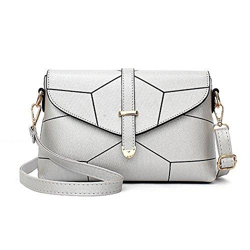 RUIREN Ladies Messenger Bag Handbag, Borse a Tracolla Multifunzionali Portatili per le Donne